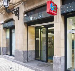 Kutxa oficinas y cajeros for Oficinas kutxa barcelona
